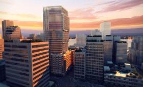 Giacomini Exchange Vancouver al tramonto